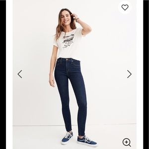 """MADEWELL 10"""" High rise Skinny Crop Jeans"""